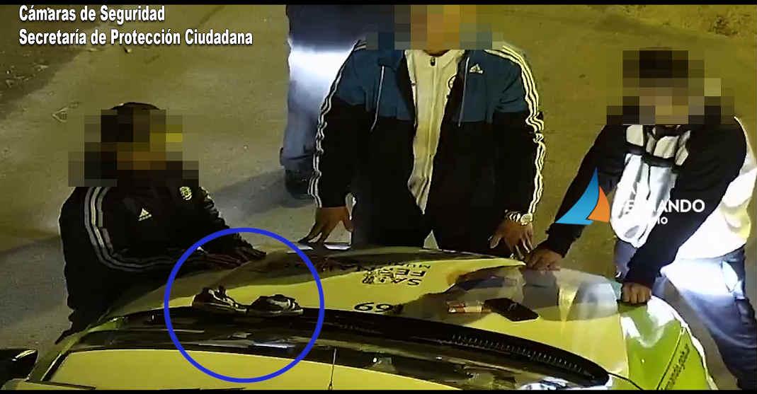 San Fernando: Gracias a las cámaras de seguridad detienen a dos hombres por robo con arma blanca
