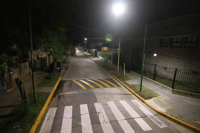 San Isidro cada vez más cerca de tener luminarias LED en todo el partido