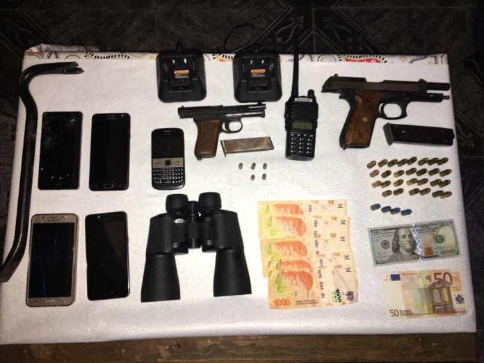 Catorce detenidos dedicados a robos con modalidad entraderas en San Isidro