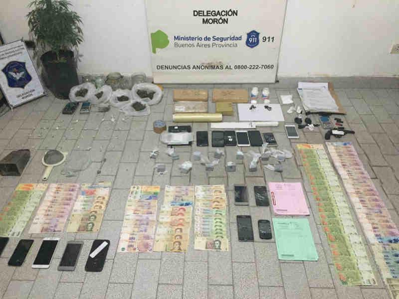 """Fue detenido en Vicente López  """"Marcos"""", un  jefe narco que usaba una parrilla dedicada a Boca como pantalla para vender droga"""