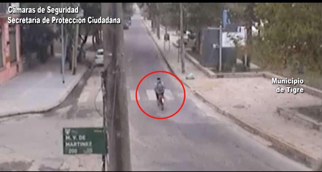Tigre: Robó una bicicleta y huyó pero la tecnología del COT lo capturó