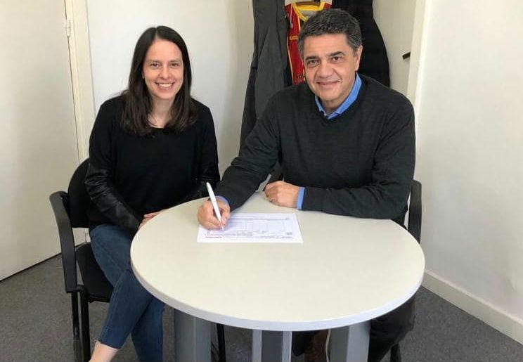 Soledad Martínez y Jorge Macri firman las listas para las PASO 2019