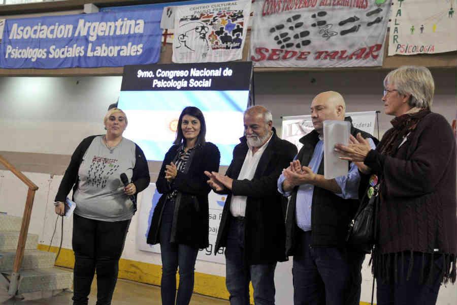 Tigre fue sede del IX Congreso Nacional y Federal de Psicología Social