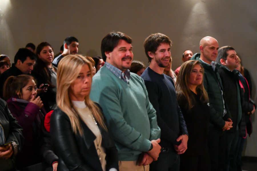Andreotti participó del acto de los Jardines Maternales Municipales por el Día de la Bandera en San Fernando