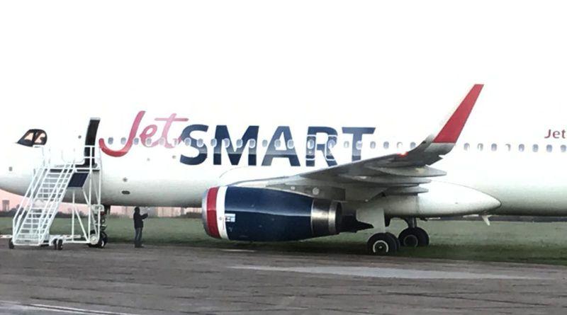 Se despistó un avión en el aeropuerto de El Palomar