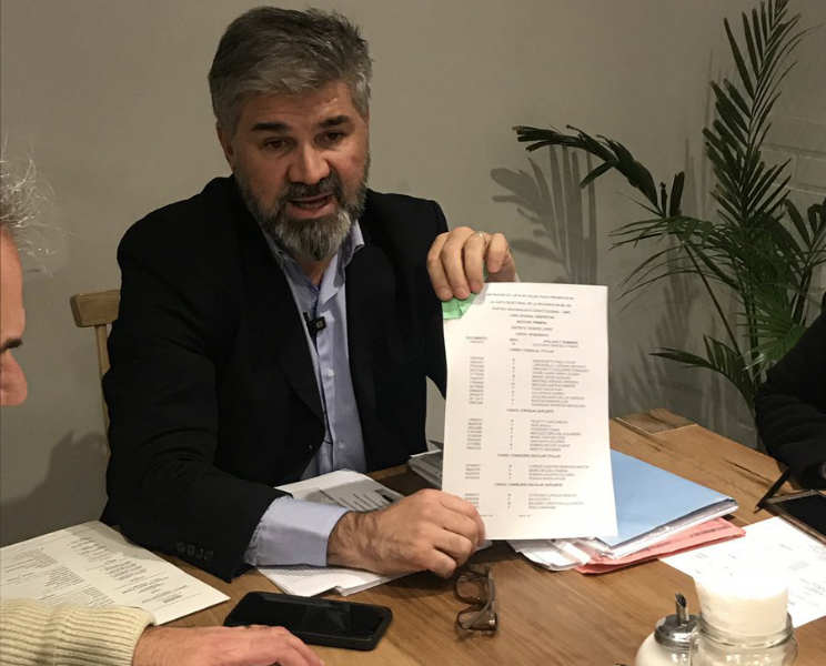 Un concejal de Vicente López y actual precandidato de Espert se quejó sobre la carga de candidaturas