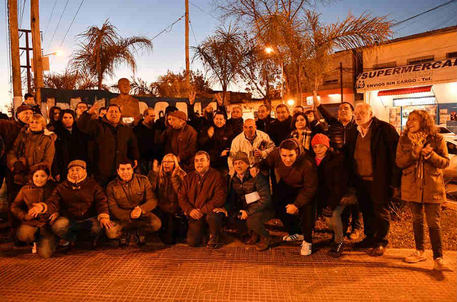 El Partido Justicialista de San Fernando recordó a Perón en el 45° aniversario de su muerte