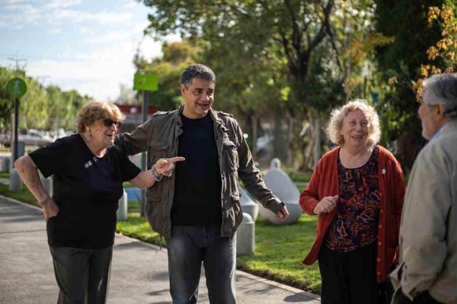 Jorge Macri anuncio un plan de ayuda fiscal para los vecinos de Vicente López