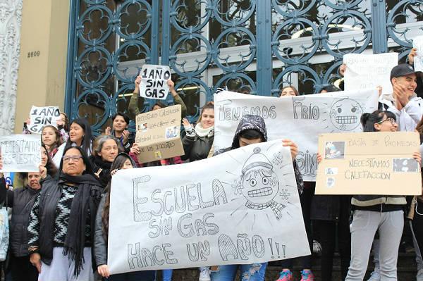 Escuelas sin gas en Vicente López dieron jornada reducida y algunas no dictaron clases