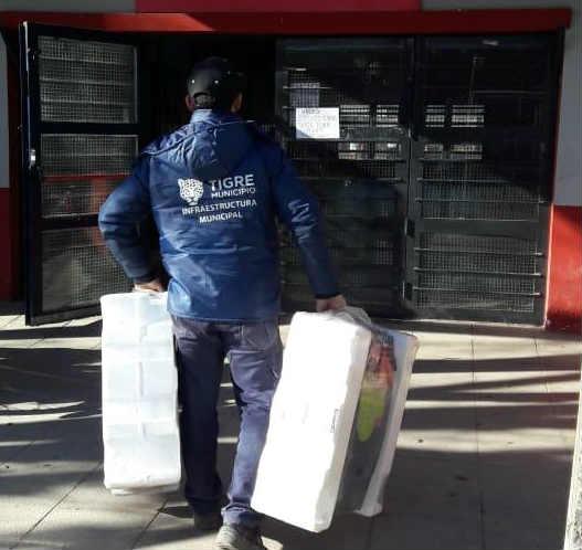 """Carolina Eguileta: """"Ante la desidia de la provincia, el Municipio tomó el compromiso de reemplazar 400 calefactores en escuelas de Tigre"""""""