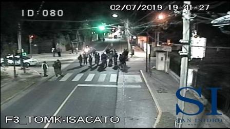 Cámaras de seguridad en San Isidro: cortan la luz intencionalmente en el barrio La Cava