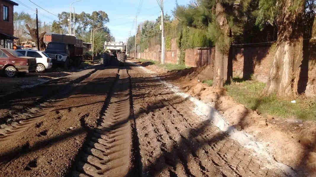 Tigre realiza obras integrales en Rincón de Milberg
