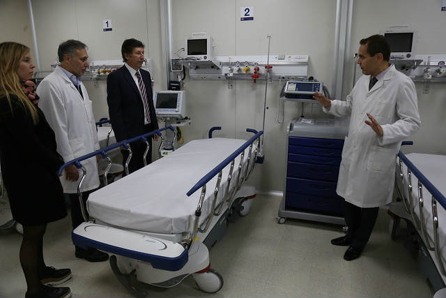 San Isidro inauguró el renovado Hospital Municipal Materno Infantil