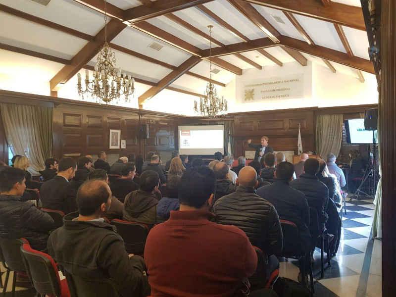 La UTN de Pacheco fue sede de un nuevo Desayuno de Actualización que realizó la Asociación Argentina de Logística Empresaria