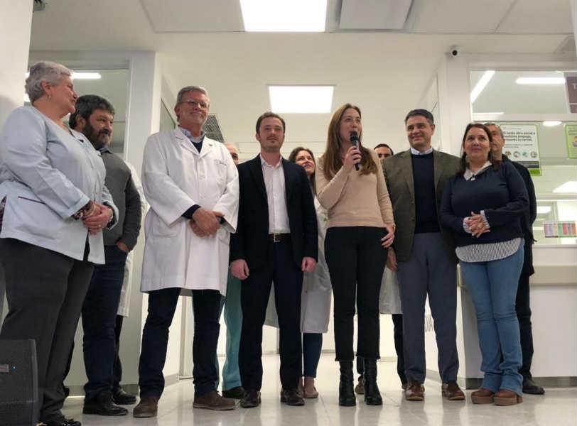 El intendente Jorge Macri, acompañado de la Gobernadora de la Provincia, María Eugenia Vidal y el Ministro de Salud, Andrés Scarsi, inauguró el sector de guardia y emergencias del Hospital Cetrángolo (Italia 1750, Florida).