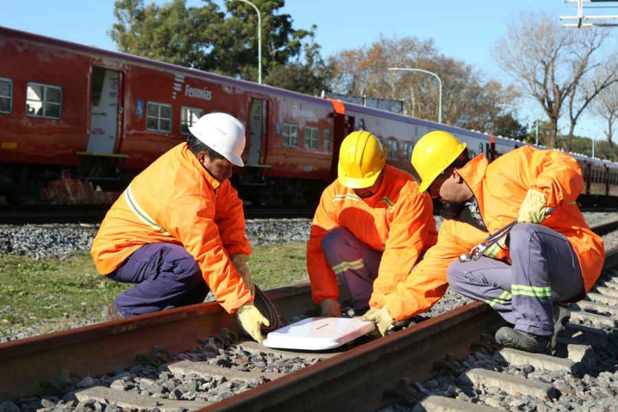 Comenzó la instalación del sistema de frenado automático en el tren Belgrano Norte