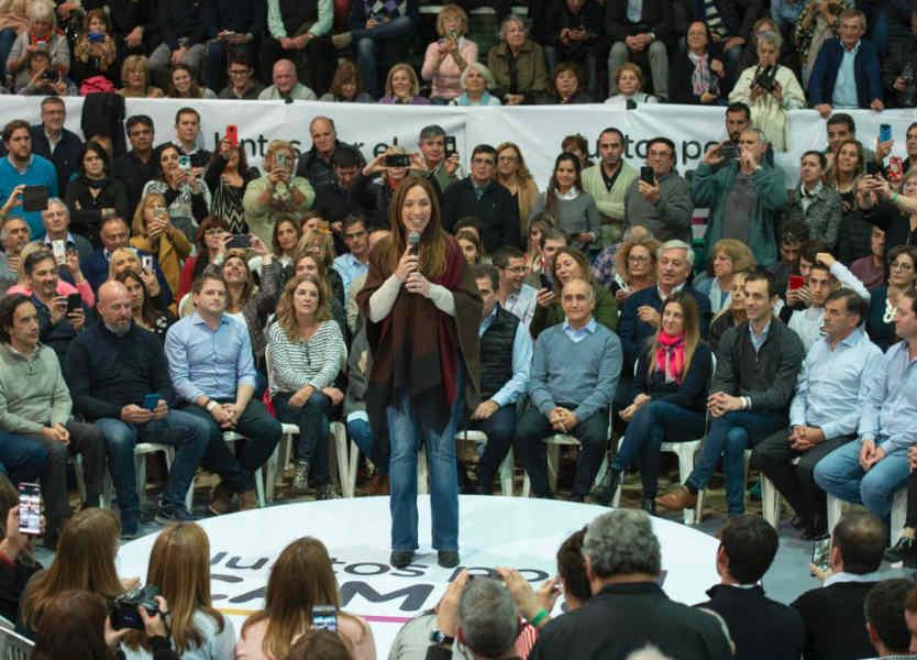 Vidal lanzó su campaña en Junín