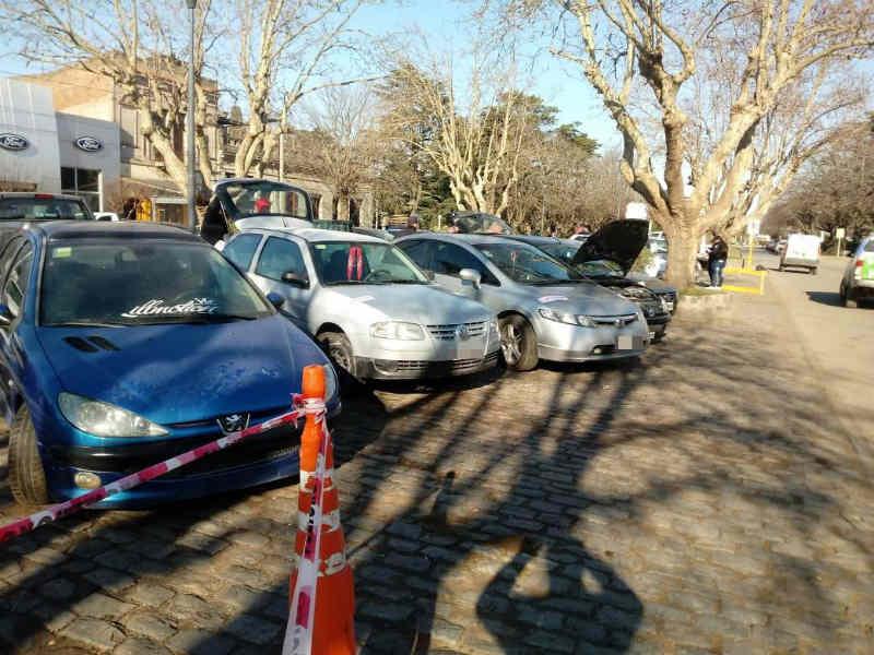 Tras diferentes allanamientos, secuestraron varios vehículos por participar de picadas ilegales en Balcarce