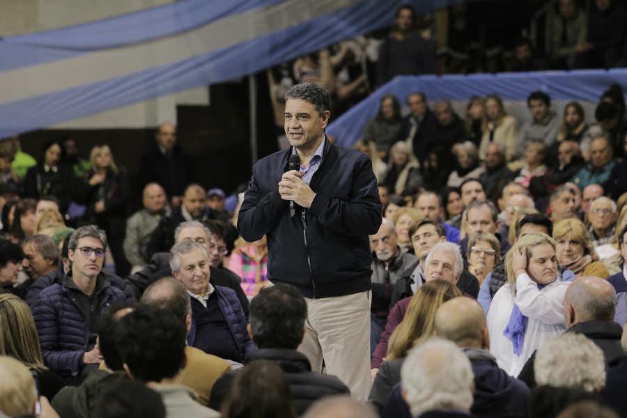 Jorge Macri presentó a sus candidatos en Vicente López