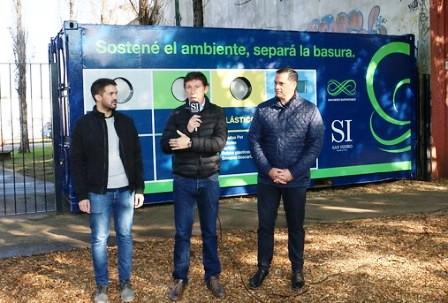 San Isidro sumó un ecopunto para separar residuos