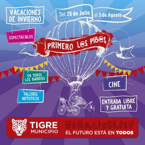 Las vacaciones de invierno se viven en Tigre con el ciclo