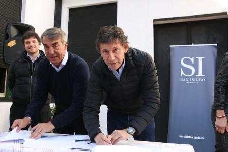 San Isidro y Nación trabajarán juntos en el emblemático predio Roman Rosell