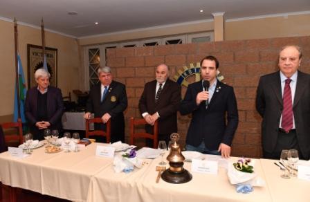 El Rotary Club de Victoria renovó sus autoridades