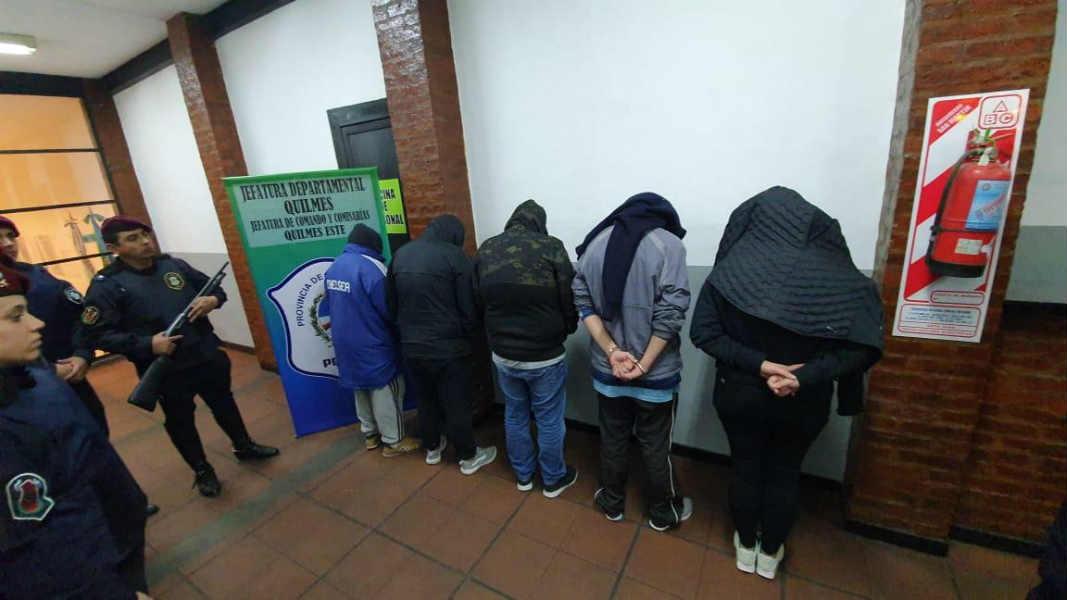 cayó en Quilmes una banda narco que usaba un lavadero como pantalla