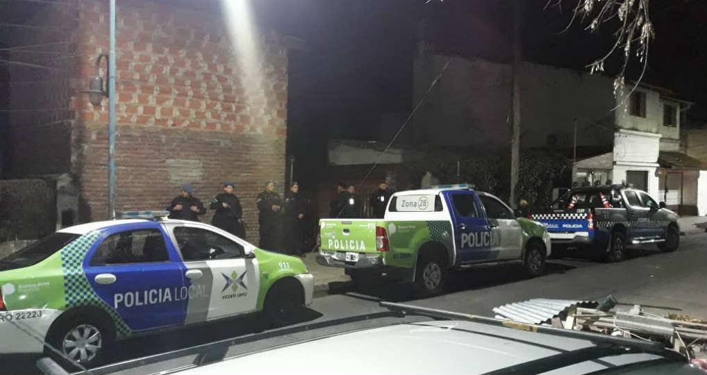 Dos peligrosos delincuentes fueron apresados en Vicente López - Policia