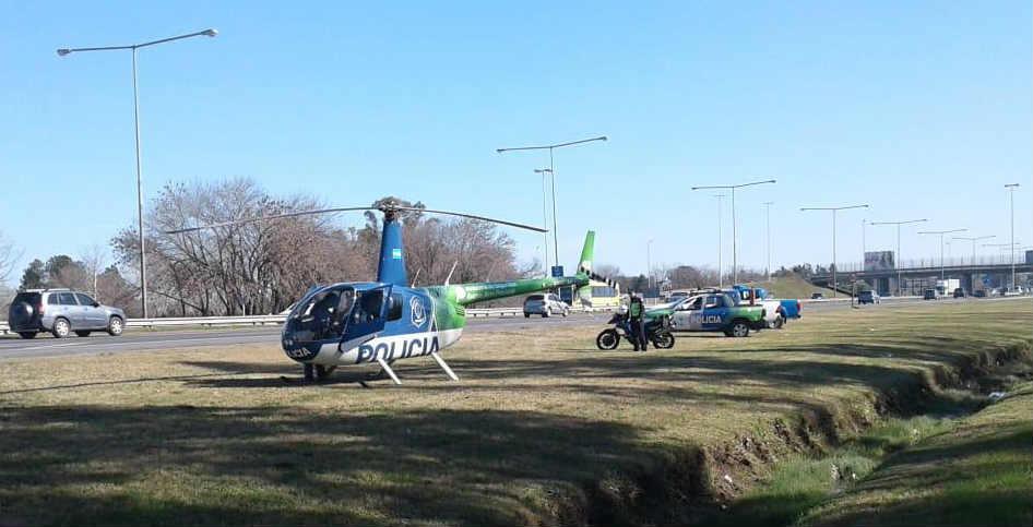 Iniciaron operativos de Prevención Aéreos en Pilar