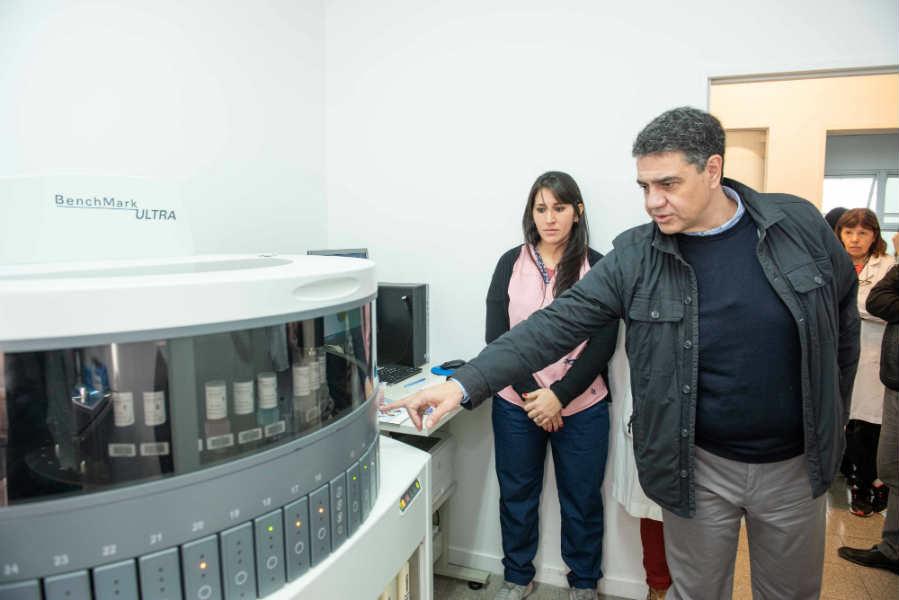 Vicente López Incorporó  nuevo equipamiento en distintas áreas del Hospital Houssay