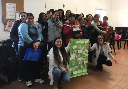 San Fernando dictó un Taller de Crianza para el grupo de madres de la Capilla Nuestra Sra. de Mailín