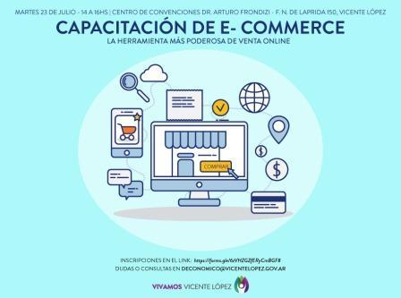 Vicente López: Capacitación sobre la herramienta más poderosa de venta online