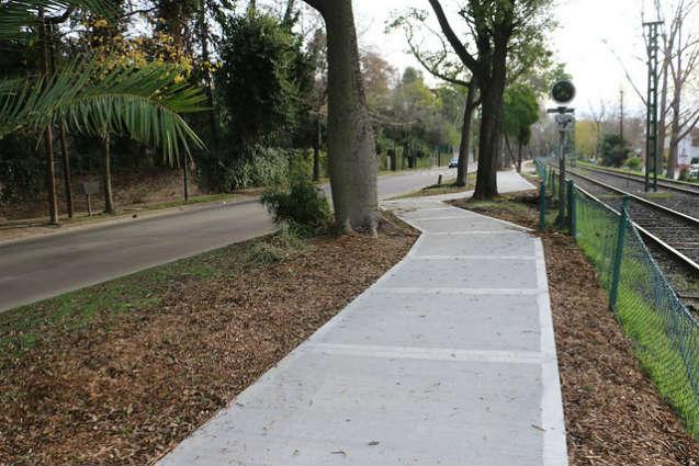 Nueva senda aeróbica en el bajo de San Isidro