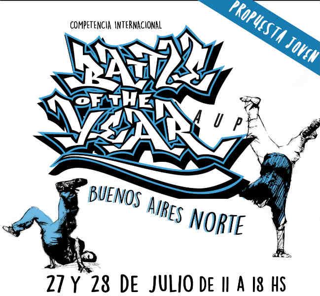 Se disputará una Competencia Internacional de Breaking y Hip Hop en San Fernando
