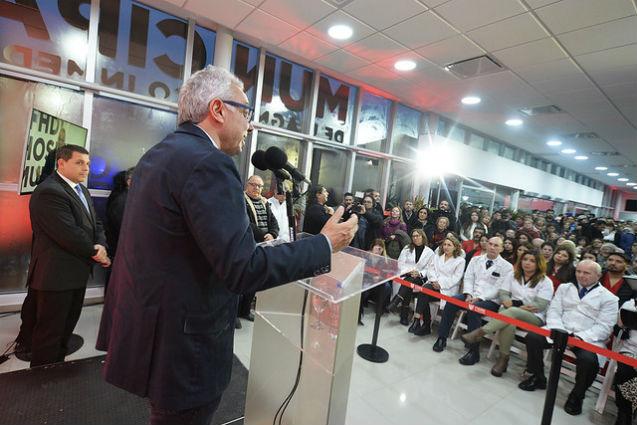 Julio Zamora inauguró un nuevo Hospital Municipal en Benavídez