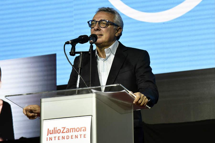 Amplio triunfo de Julio Zamora en Tigre en las PASO 2019.