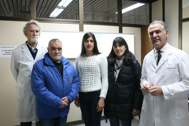 Novedosa operación de columna en el hospital central de San Isidro