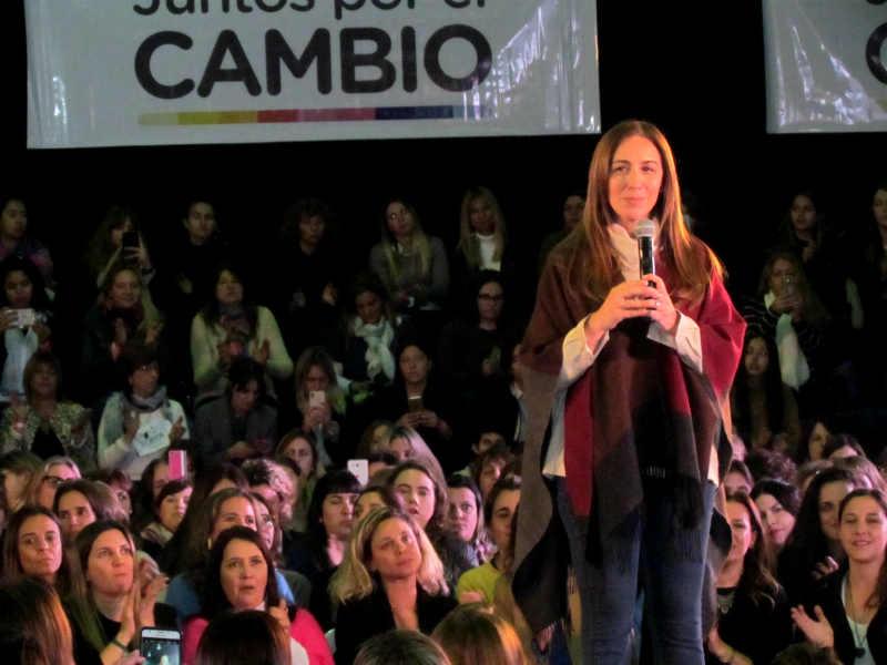 Vidal y Ciarletta compartieron un acto para mujeres en San Fernando