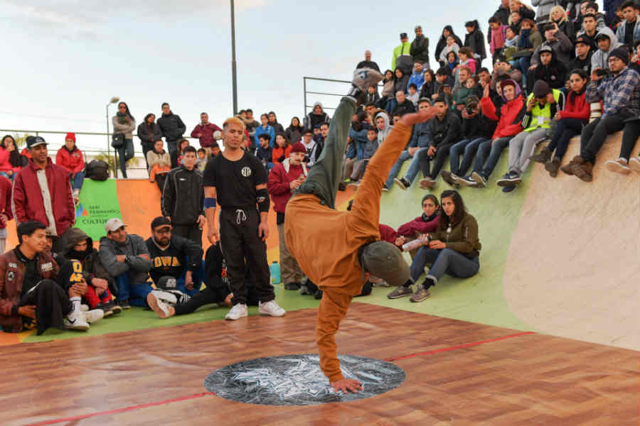 San Fernando disfrutó de las mejores performances de breaking y hip hop en la Battle of the Year AUP