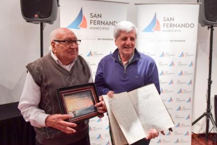 Luis Andreotti homenajeó a los fomentistas en su día