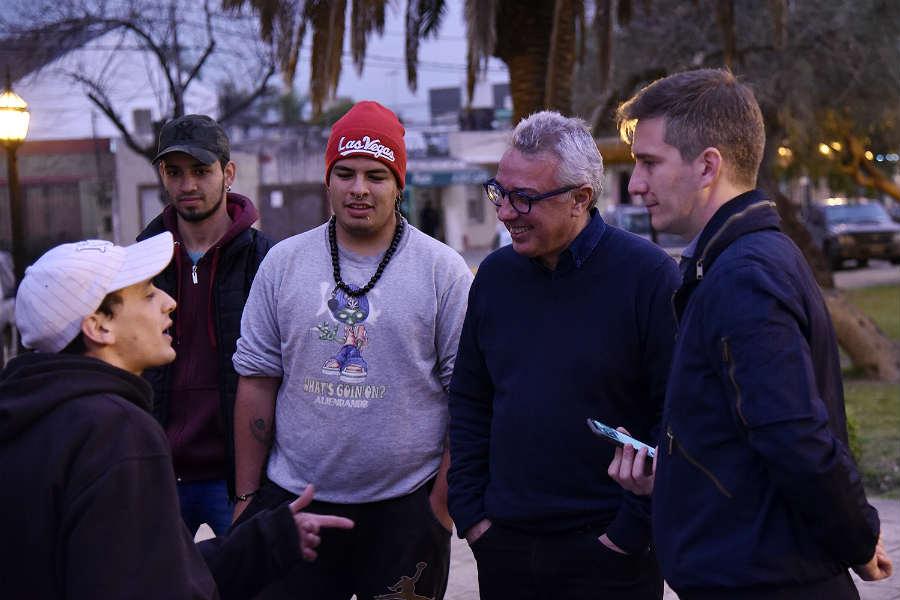 Julio Zamora dialogó con vecinos de General Pacheco y Benavídez