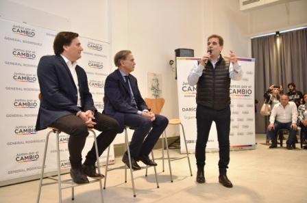 Pichetto y Ritondo se reunieron con empresarios en General Rodríguez