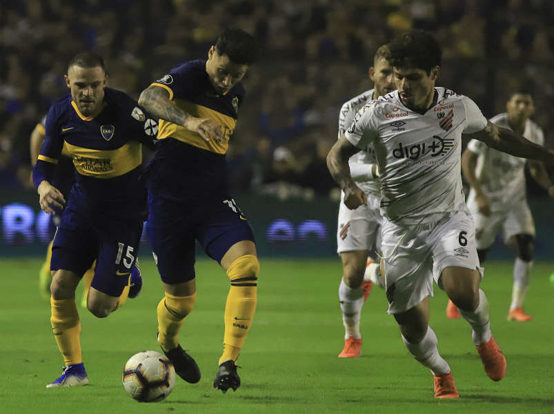 Boca fue muy superior a Athletico Paranaense, le ganó y clasificó a cuartos de final de la copa Libertadores