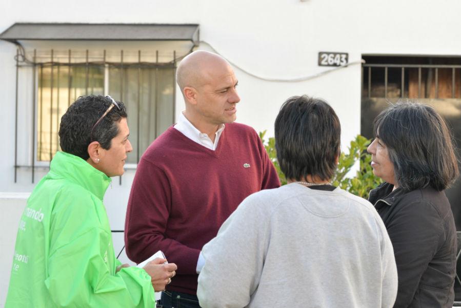 Los precandidatos de San Fernando dialogaron con los vecinos de Virreyes