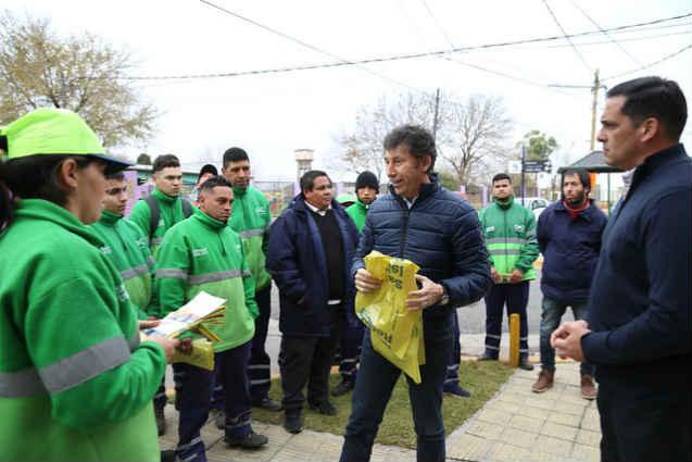 El programa de recolección domiciliaria diferenciada de San Isidro alcanzó 2.500 viviendas
