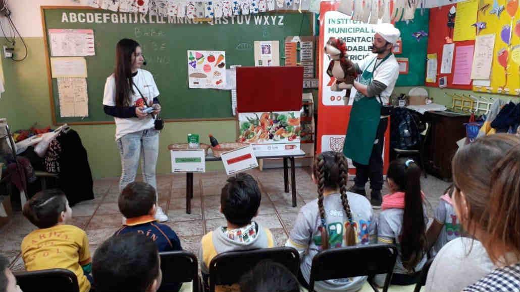 Tigre instruyó en alimentación saludable a más de 5300 alumnos del distrito