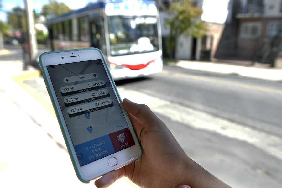 Más de 13.500 vecinos ya descargaron la app Colectivos Tigre en sus teléfonos celulares