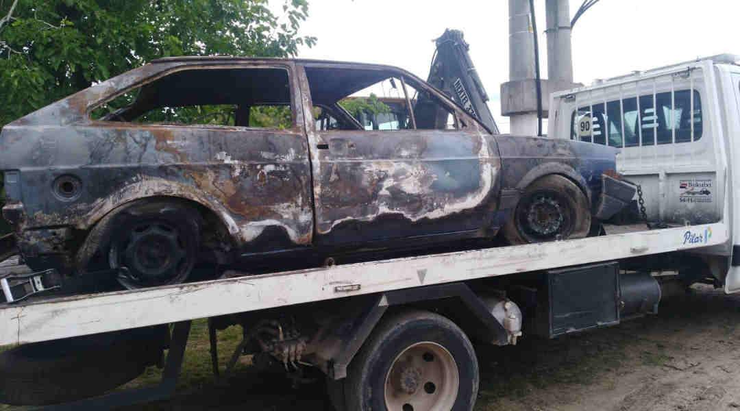 Recolección de vehículos abandonados en en Pilar