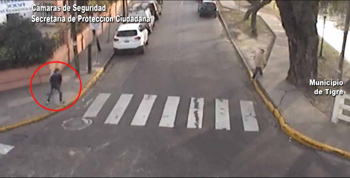 En Tigre, un ladrón se escondió bajo un puente y lo atraparon